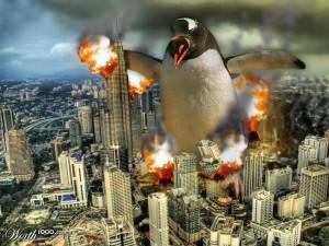 Penguin Zilla