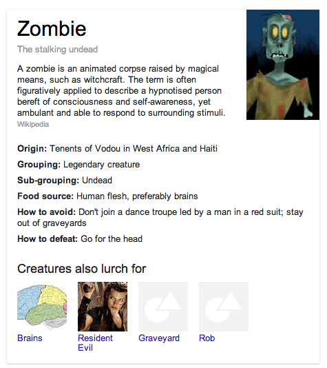 Zombie Knowledge Graph