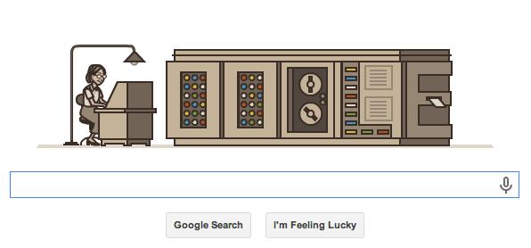 Google Doodle Grace Hopper