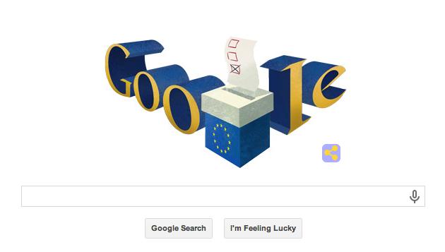 Google Doodle European Elections