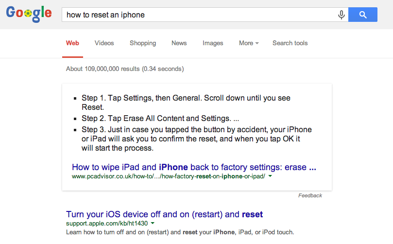 How to Reset an iPhone