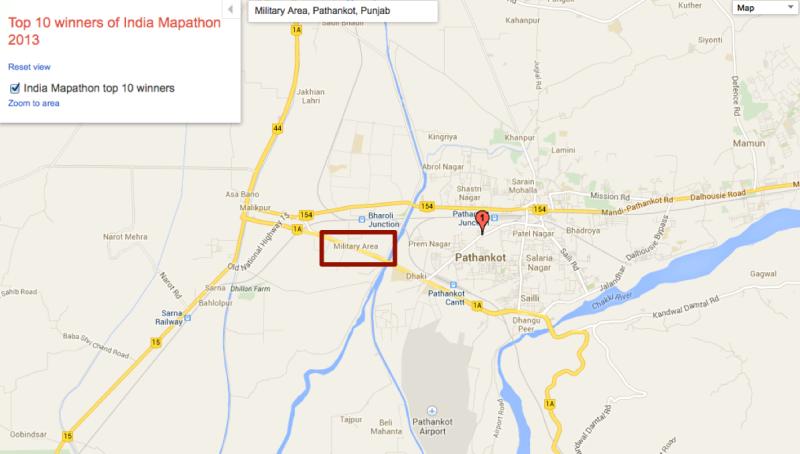 google-maps-india-military