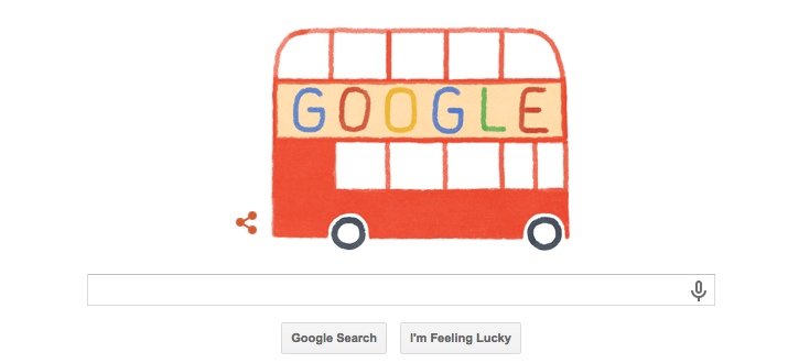 Google Doode On The Buses