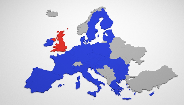 Brexit map by Nikola93