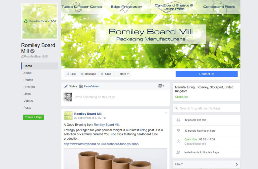 romiley board mill